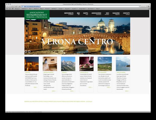 Screenshot B&B Verona
